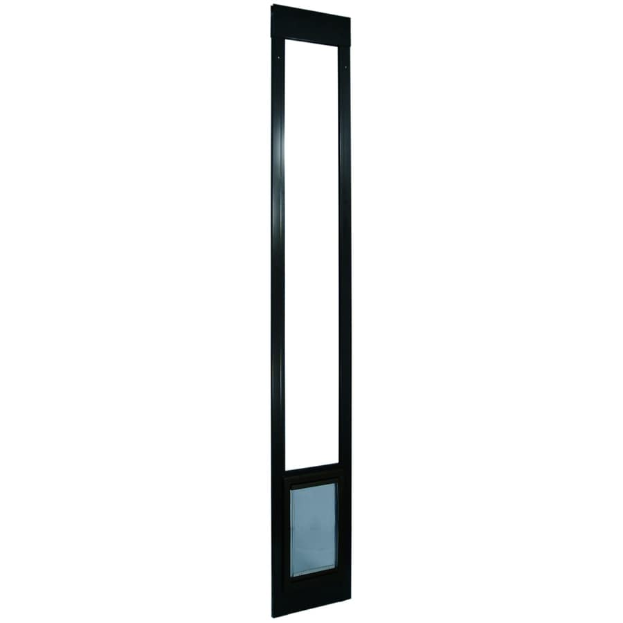 Ideal Pet Products X-Large Bronze Aluminum Sliding Pet Door (Actual: 20-in x 15-in)