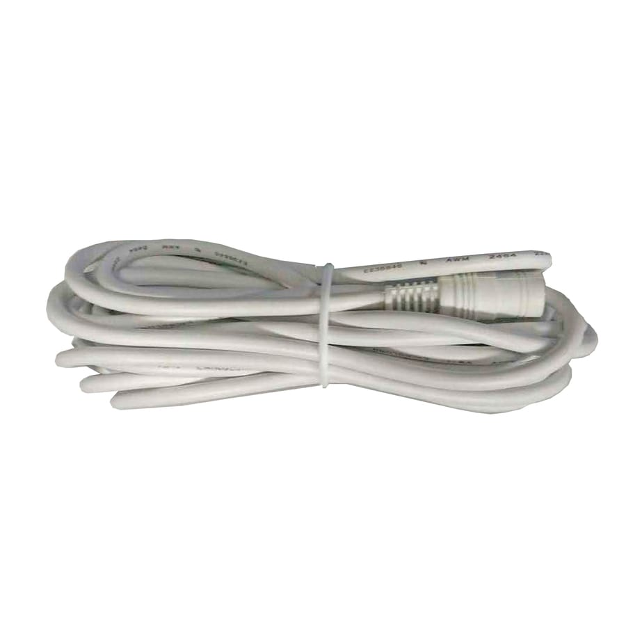 Iris 9-ft White Indoor/Outdoor Security Camera Power Extension Cable