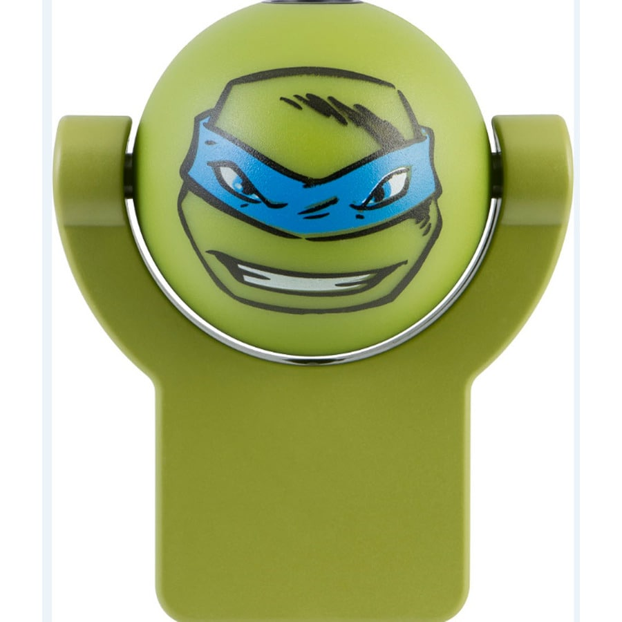Nickelodeon Teenage Mutant Ninja Turtle Green LED Night Light with Auto On/Off