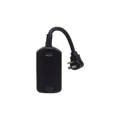 Z-Wave Black Remote Control Lamp Module