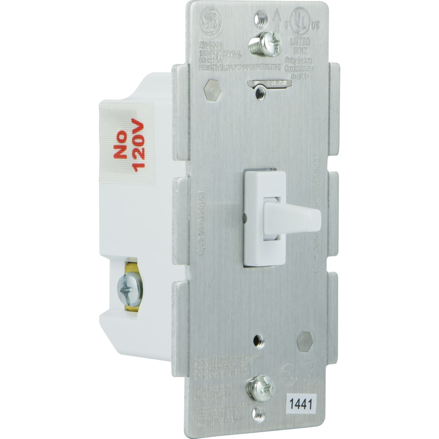 Shop GE 0-amp Single Pole 3-way Wireless White Toggle Indoor Light Switch at Lowes.com