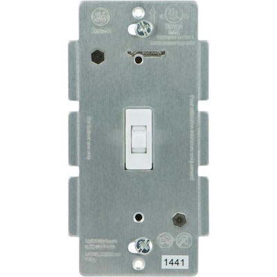 Z Wave Zigbee Bluetooth 15 Amp 3 Way White Toggle Residential Light Switch