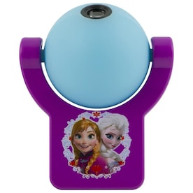 Projectables Disney Frozen Purple/Blue LED Night Light with Auto On/Off