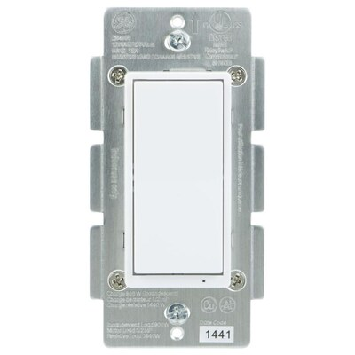 Zigbee 15 20 Amp 3 Way 4 White Rocker Residential Commercial Light Switch