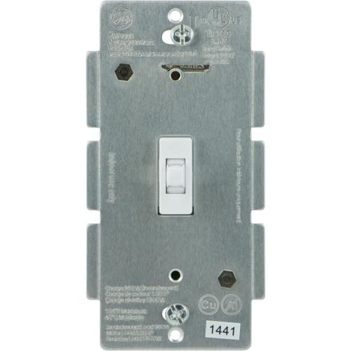 Ge Z Wave Plus 15 Amp 3 Way White Toggle Residential Light