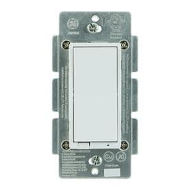 GE 15-amp 3-way White/Light Almond Master Dimmer LED Dimmer