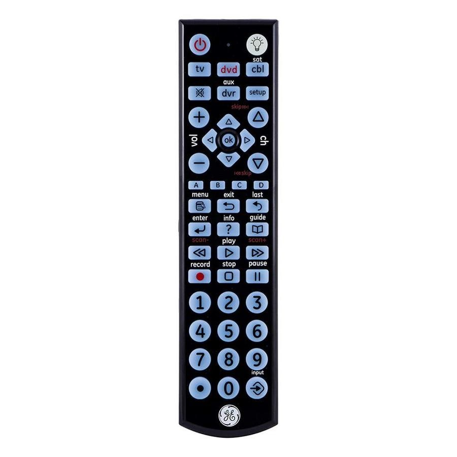 GE Universal 4-Device Remote Control