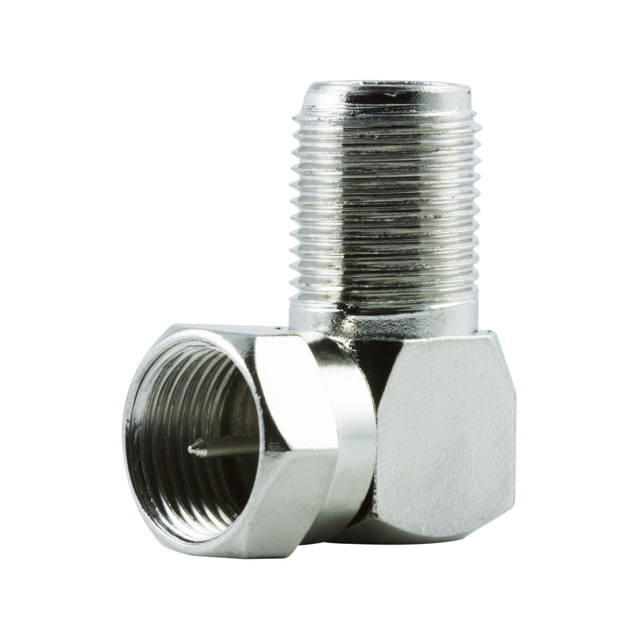 GE Copper-Clad Steel Right Angle Screw-on F-connector