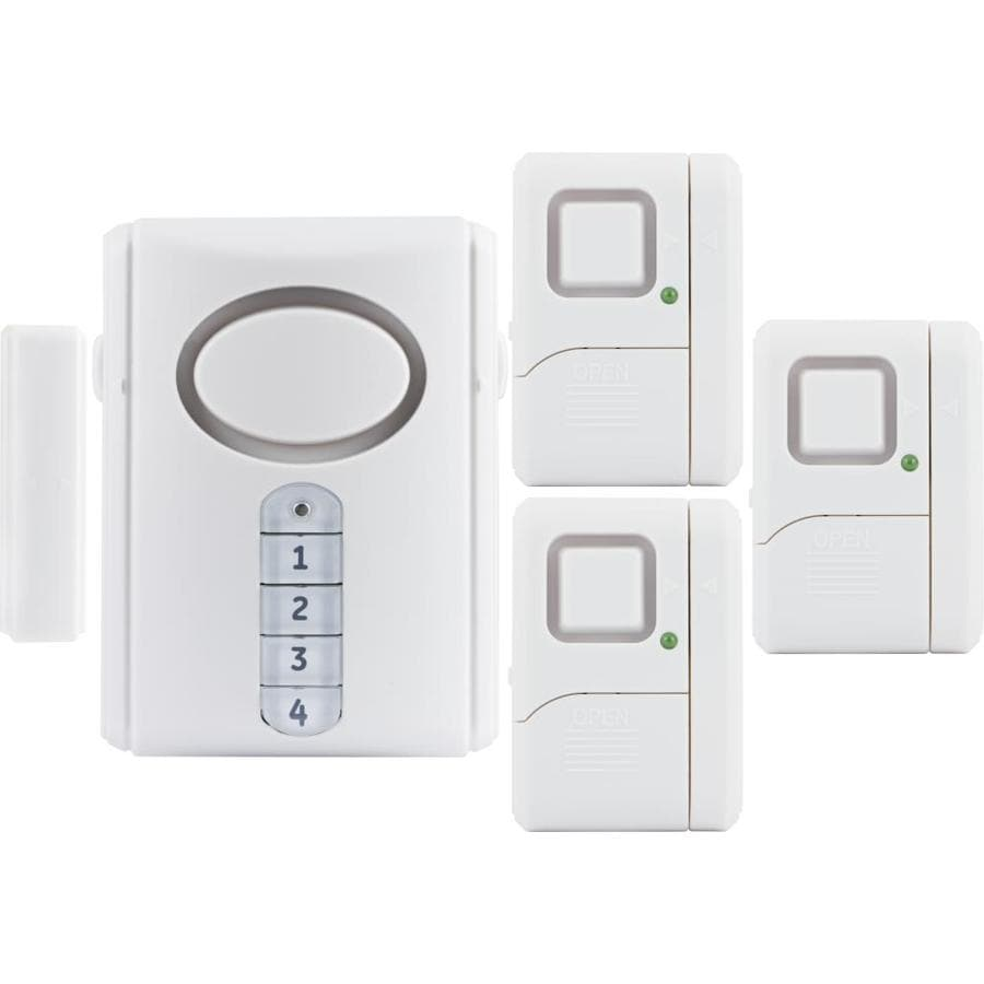 Shop GE 4-Sensor Indoor Door And Window Sensor at Lowes.com