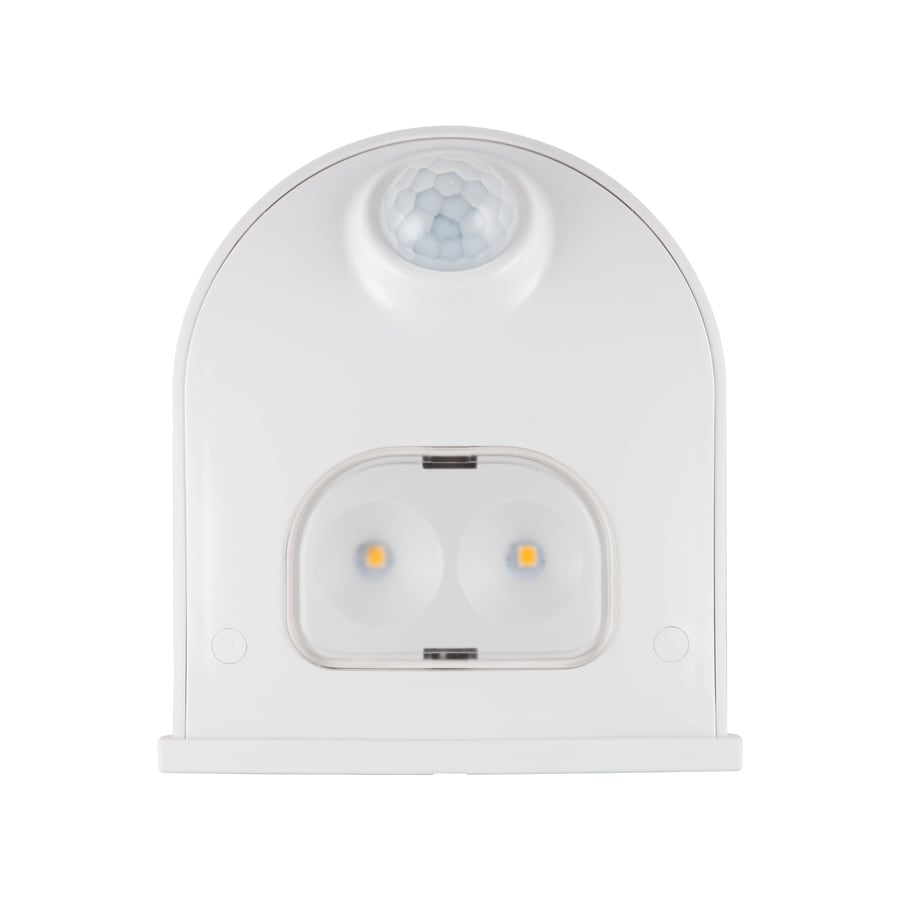 Shop Energizer White Led Night Light With Motion Sensor And Auto On Wiring Security Lights Back Deck Off