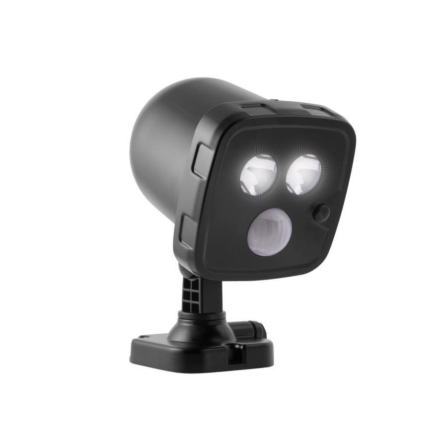 Energizer 5 7 Watt 30 W Equivalent Black Battery Operated Led Spot Light