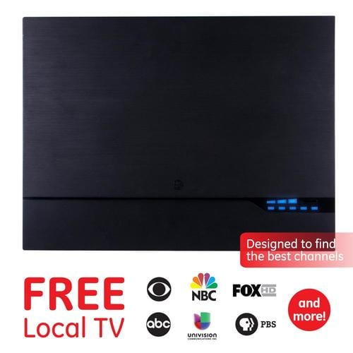 USA Portable Clear HD TV FREE Broadcast Network Shows Antenna Indoor TV Keys Kit