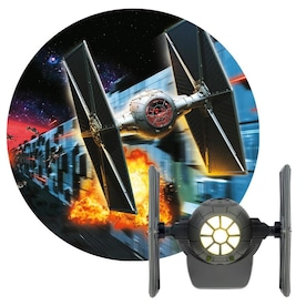 Projectables Star Wars LED Night Light, TIE Fighter, Dusk-to-Dawn, 43057