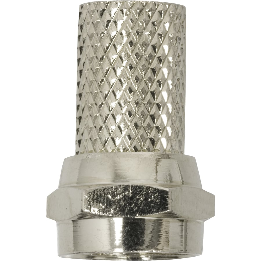 GE Nickel Screw-On F-Connector