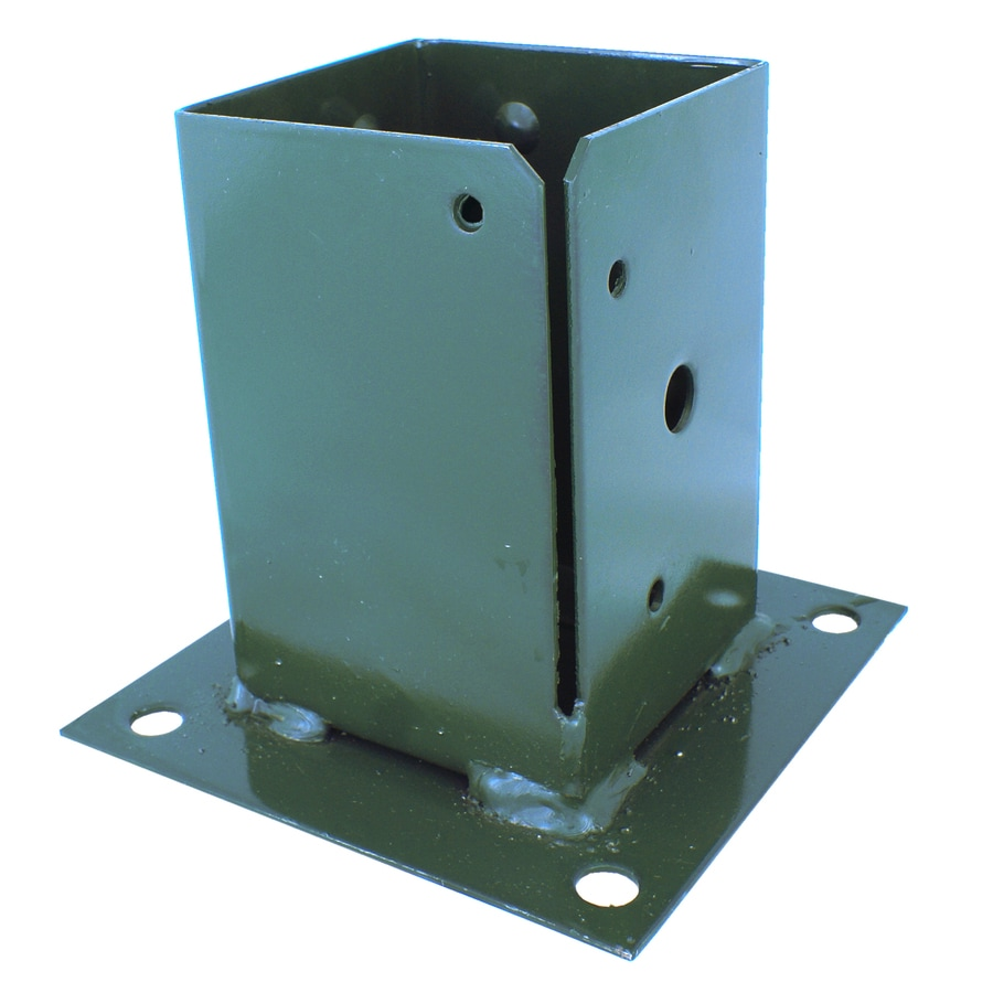 USP Steel Painted Post Base (Common: 4-in; Actual: 6.063-in)