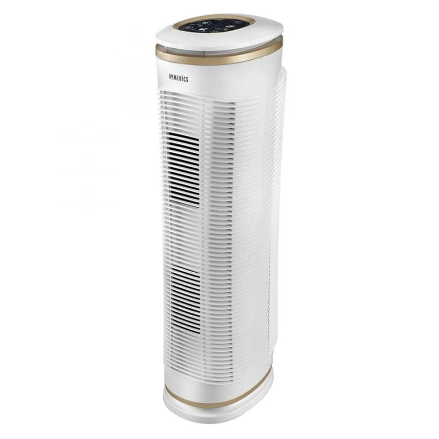 HOMEDICS TotalClean PetPlus 3-Speed 188-sq ft True HEPA Air Purifier ENERGY STAR