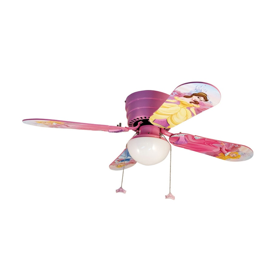 Shop disney 42 princess hugger ceiling fan at lowes disney 42 princess hugger ceiling fan aloadofball Image collections
