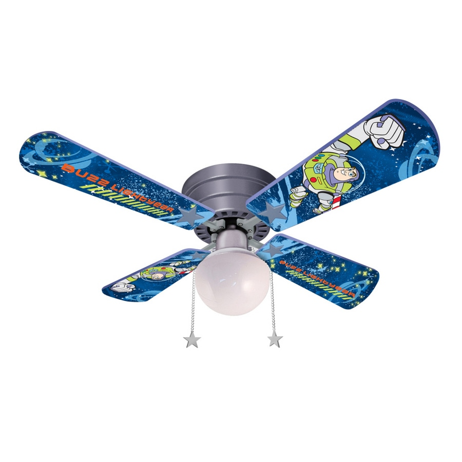 shop disney 42 toy story 2010 hugger ceiling fan at. Black Bedroom Furniture Sets. Home Design Ideas