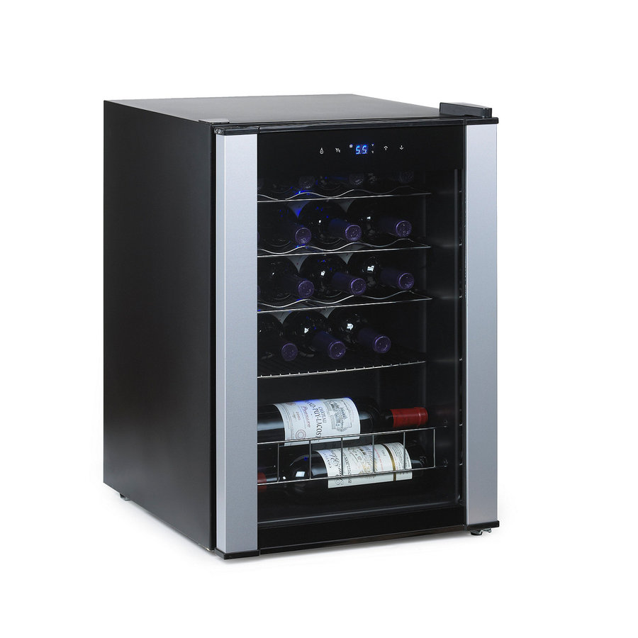 Wine Enthusiast 6 Bottle Capacity Stainless Steel
