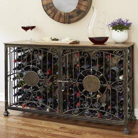 wine bottle storage furniture. Wine Enthusiast Professional 84-Bottle Steel Chiller Wine Bottle Storage Furniture