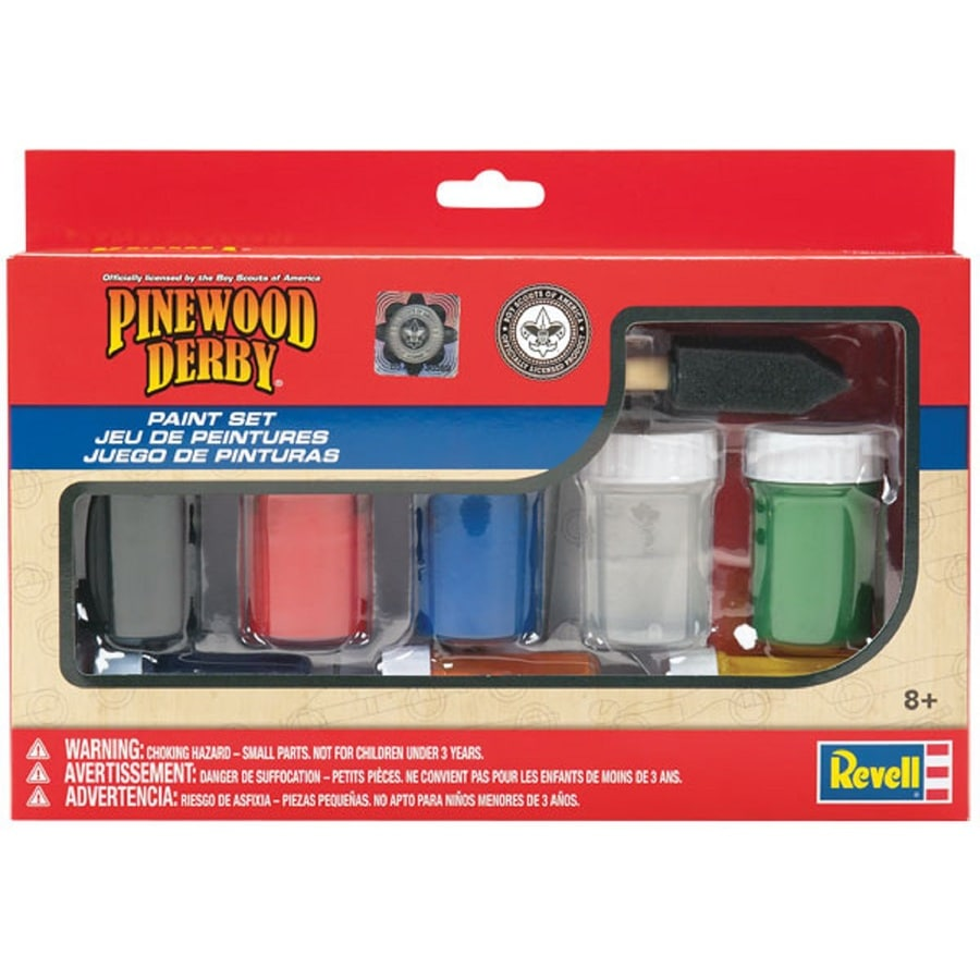 Revell Kid's Beginner Pinewood Derby Project Kit