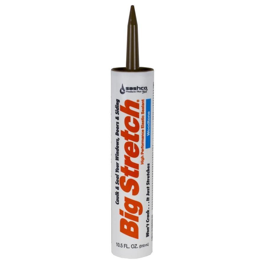 Big Stretch 12-Pack 10.5-fl oz Woodtone  Paintable Latex Caulk