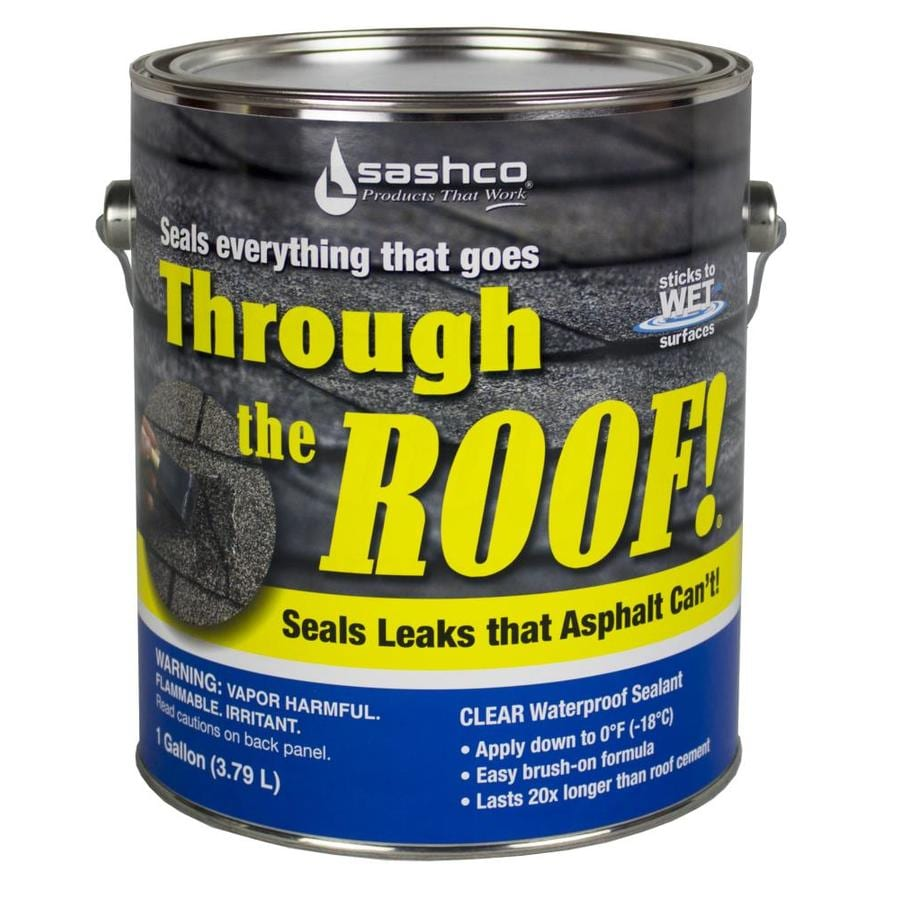 Through the Roof! 128-fl oz Clear Paintable Solvent-Based Specialty Caulk