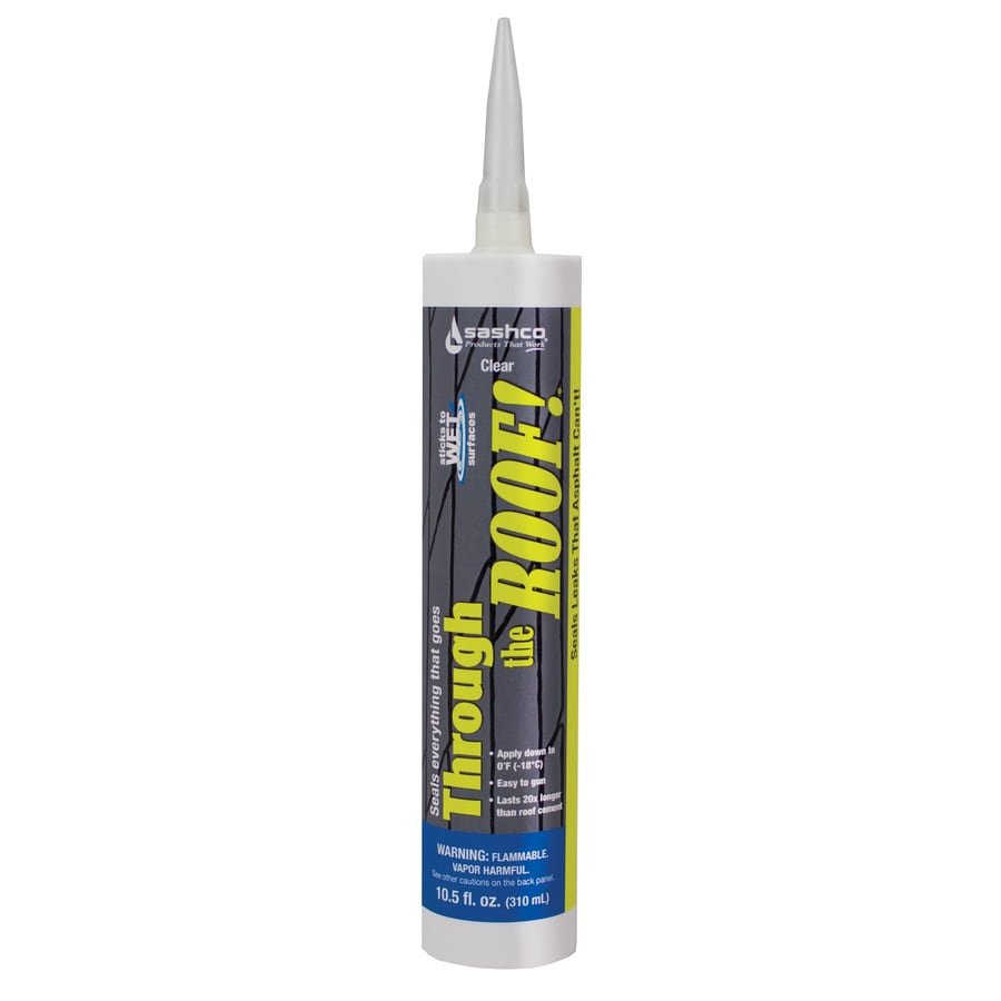 Shop Through The Roof 10 5 Fl Oz Clear Paintable Solvent