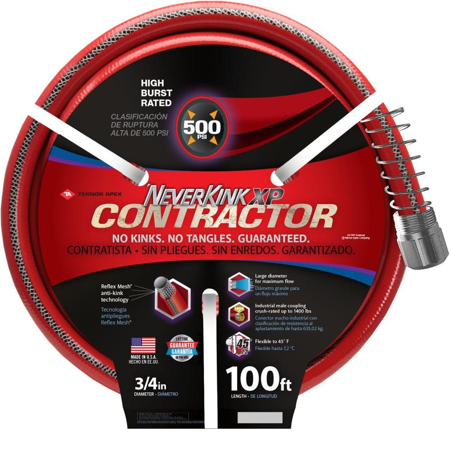 NeverKink 3/4-in x 100-ft Contractor-Duty Kink Free Vinyl Coiled Hose