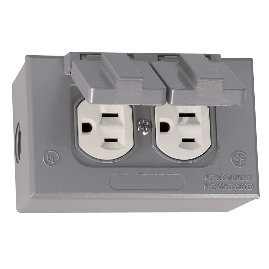 Soffit electrical installation electricians for Exterior electrical outlet box