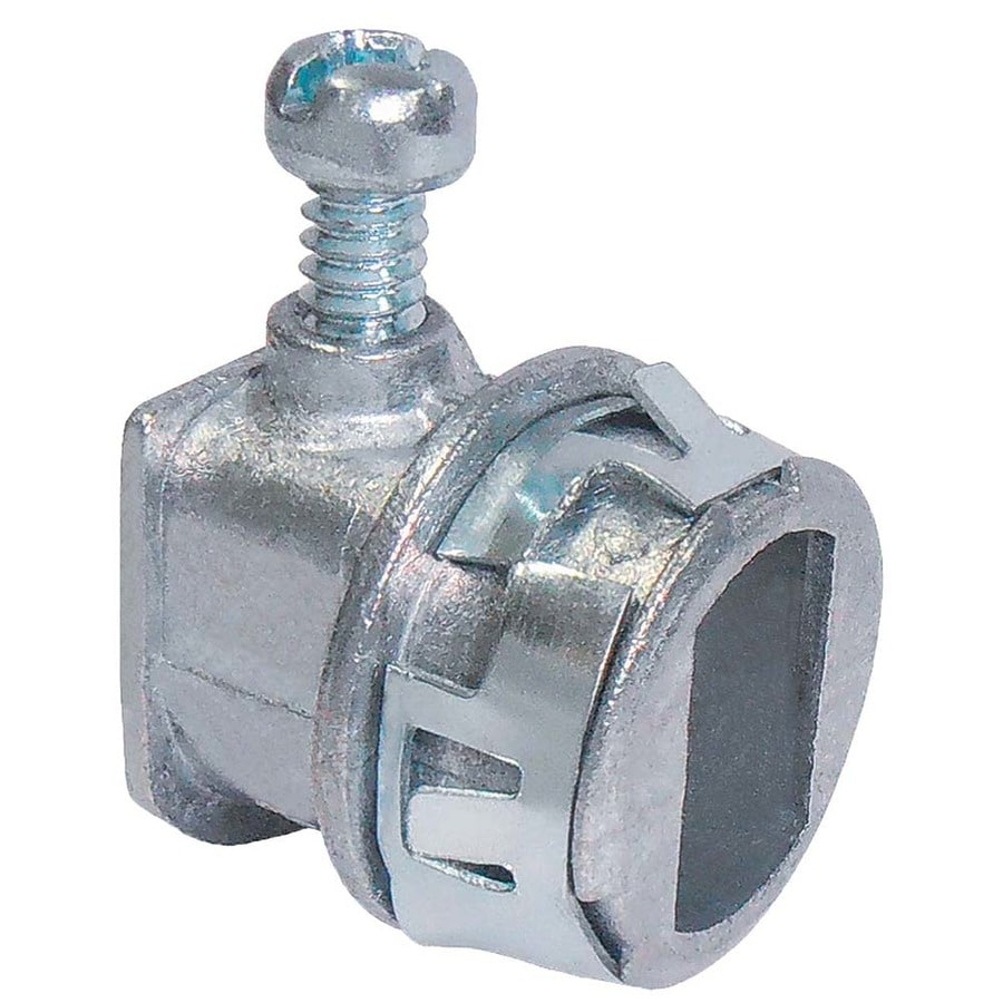 Sigma Electric 25-Pack 3/8-in BX - MC - Flex Connectors