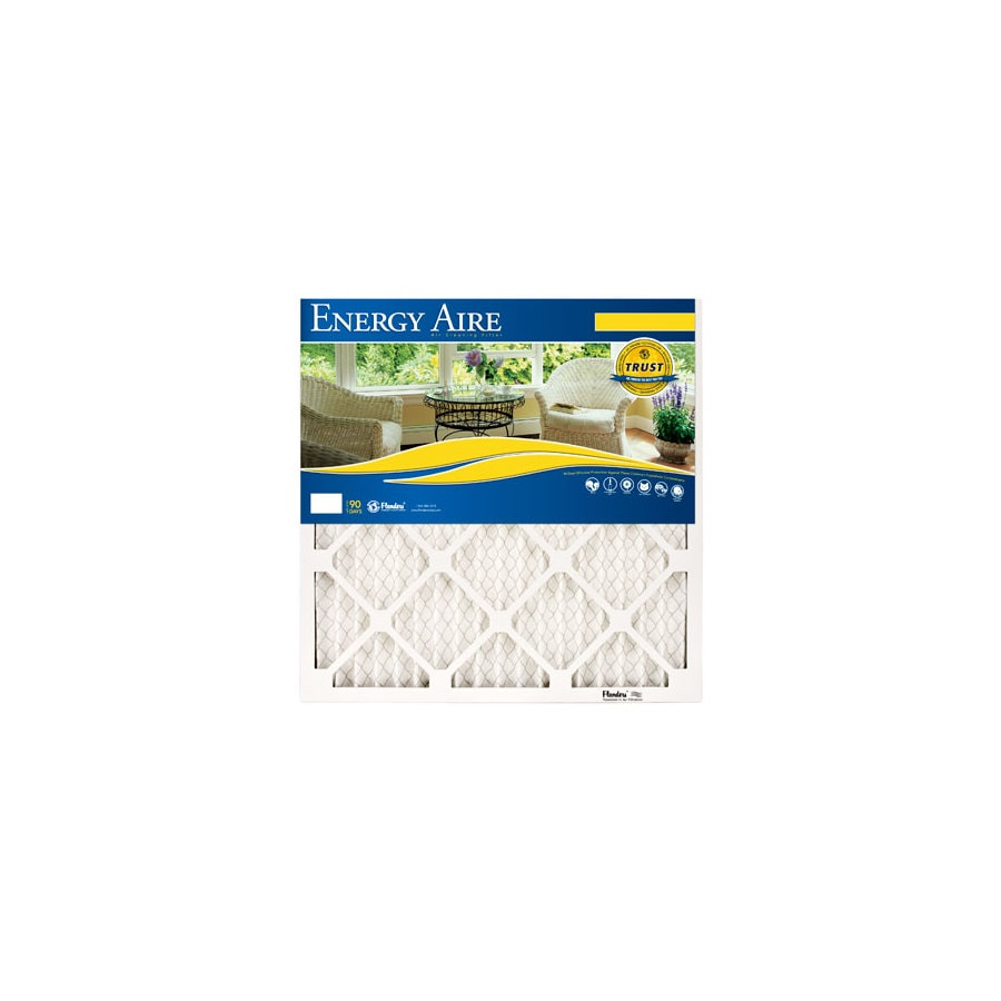 Energy Aire 16-in x 16-in x 1-in Pleated Air Filter