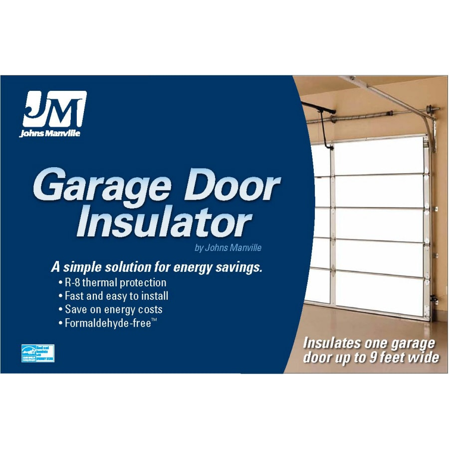 Shop Johns Manville R 8 Garage Door Insulation Panel Kit At Lowes