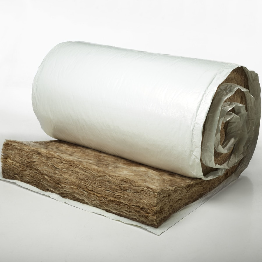 Shop johns manville r11 200 sq ft faced fiberglass roll for Fiberglass sound insulation