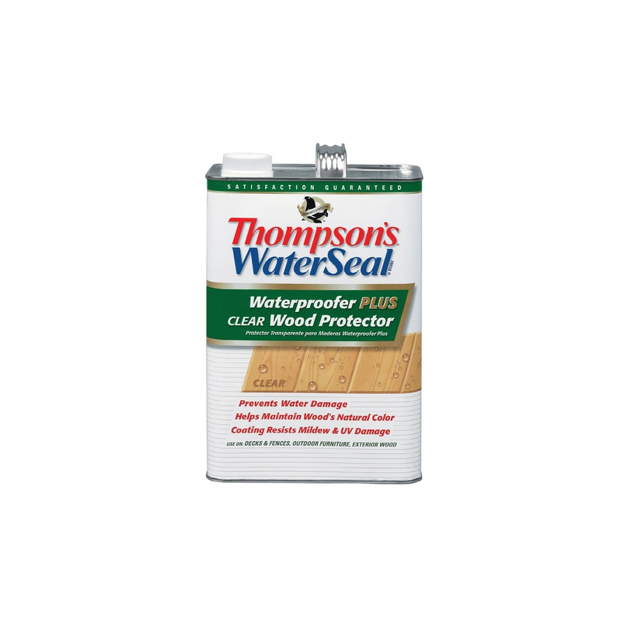 Thompson's WaterSeal Waterproofer Plus Clear Wood Protector- Low Voc