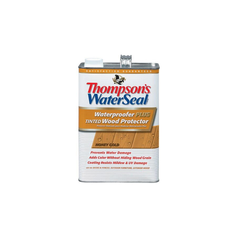 Thompson's WaterSeal Waterproofer Plus Tinted Wood Protector - Sheer Honey Gold - Low Voc