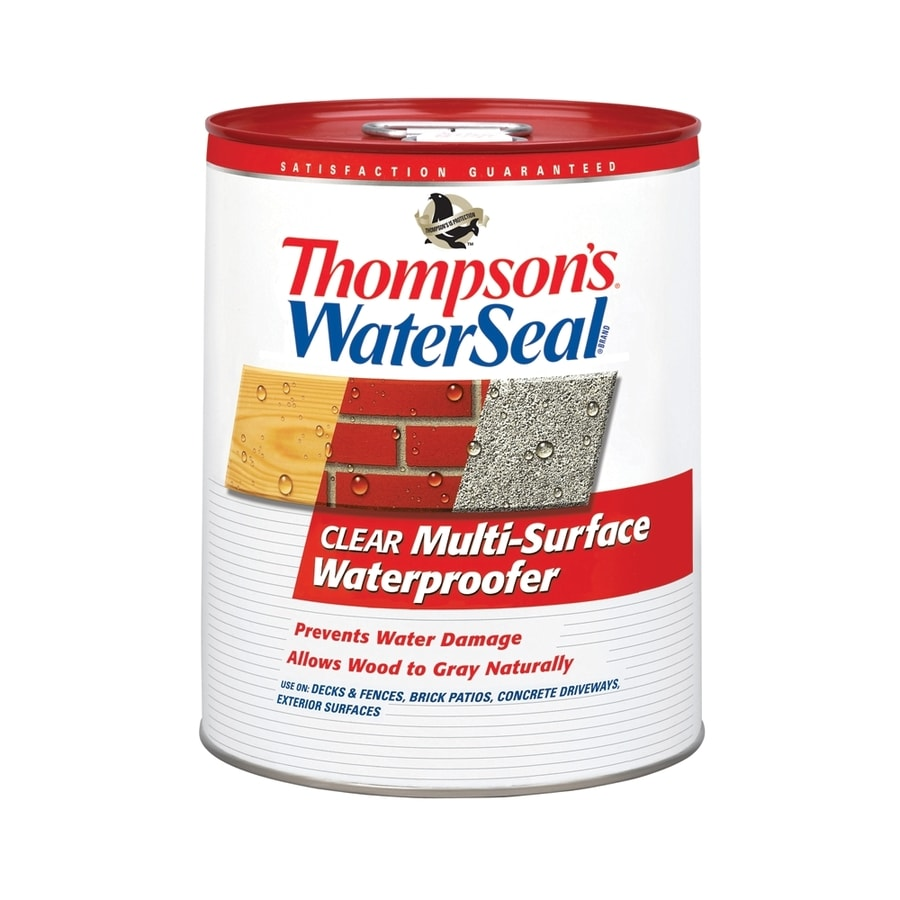 Thompson's WaterSeal Clear Flat Waterproofer (Actual Net Contents: 640-fl oz)