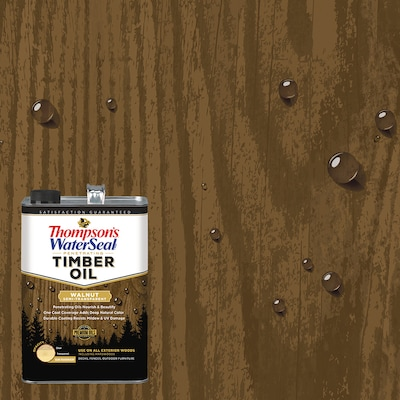 Thompson's WaterSeal Penetrating Timber Oil Pre-Tinted Transparent Exterior Stain and Sealer (Gallon)
