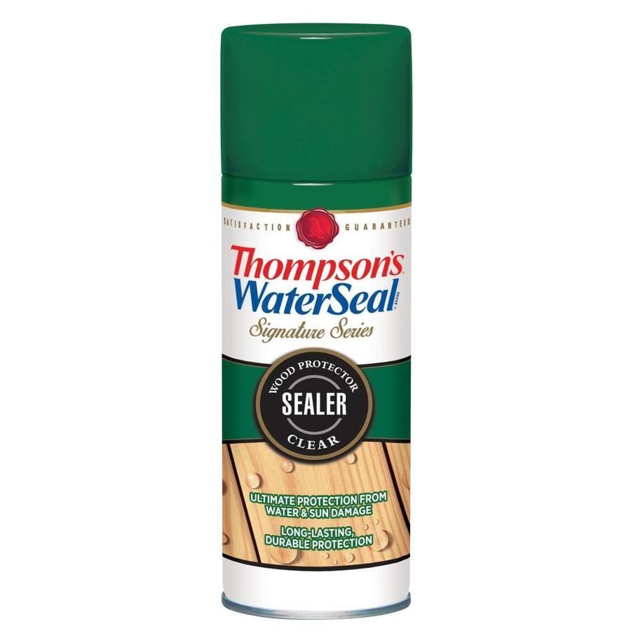 Thompson's WaterSeal Clear Flat Waterproofer (Actual Net Contents: 11-fl oz)