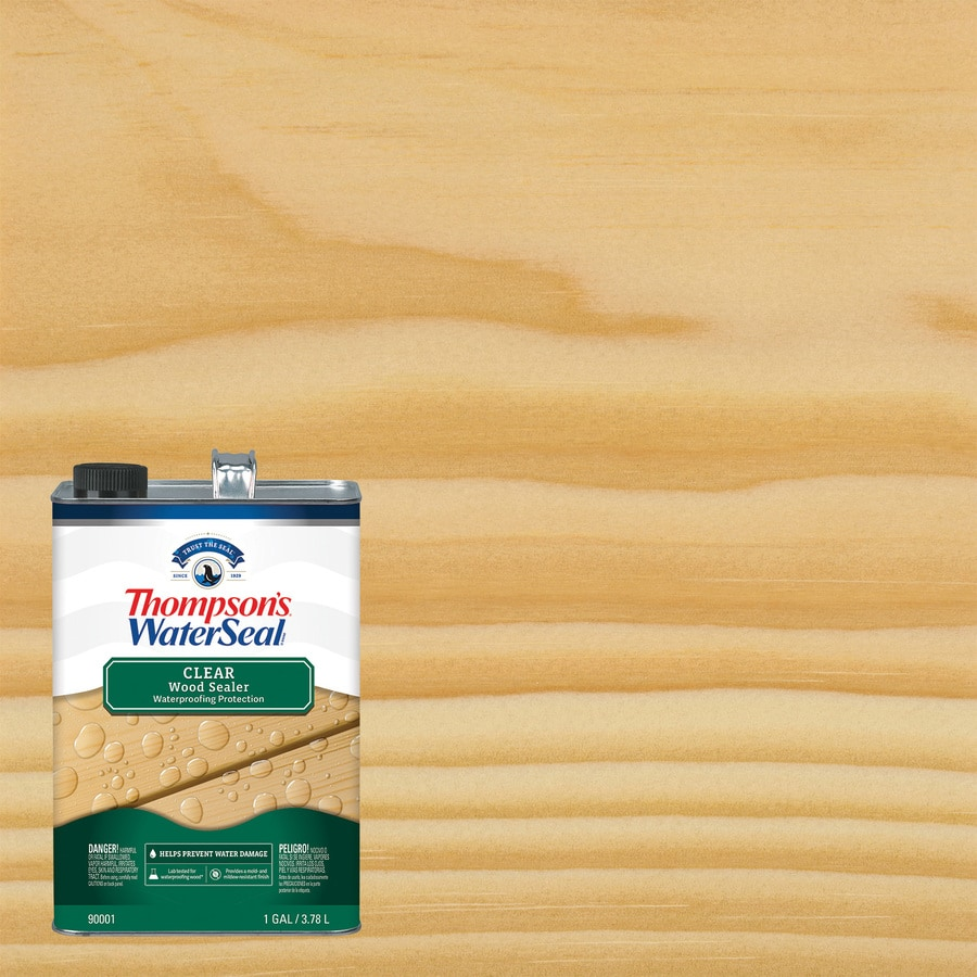 Thompson's WaterSeal Clear Exterior Stain (Actual Net Contents: 128-fl oz)