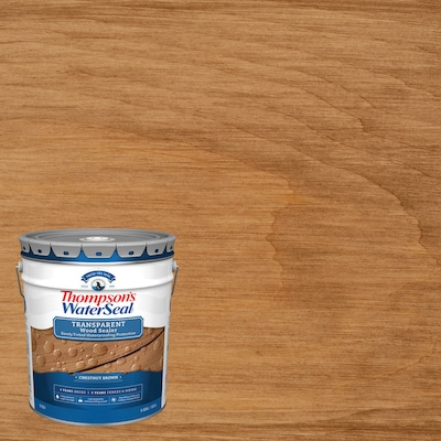 Thompson's WaterSeal Signature Series Pre-Tinted Autumn Brown Exterior Stain and Sealer (Gallon)