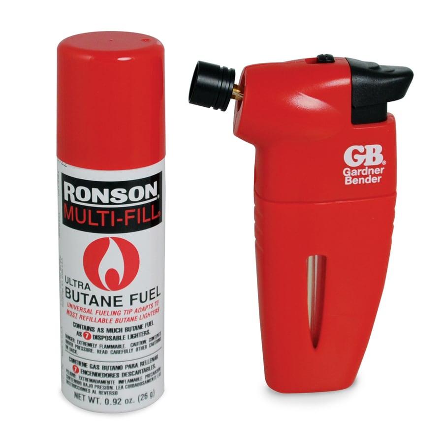Gardner Bender Pocket Butane Torch with Butane Refill; 1/Clam