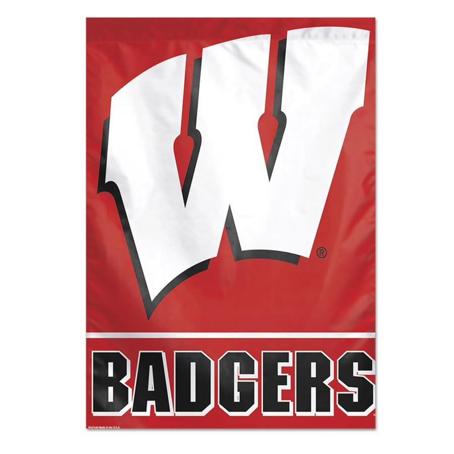 WinCraft Sports 2.33-ft W x 3.33-ft H University of Wisconsin State Flag