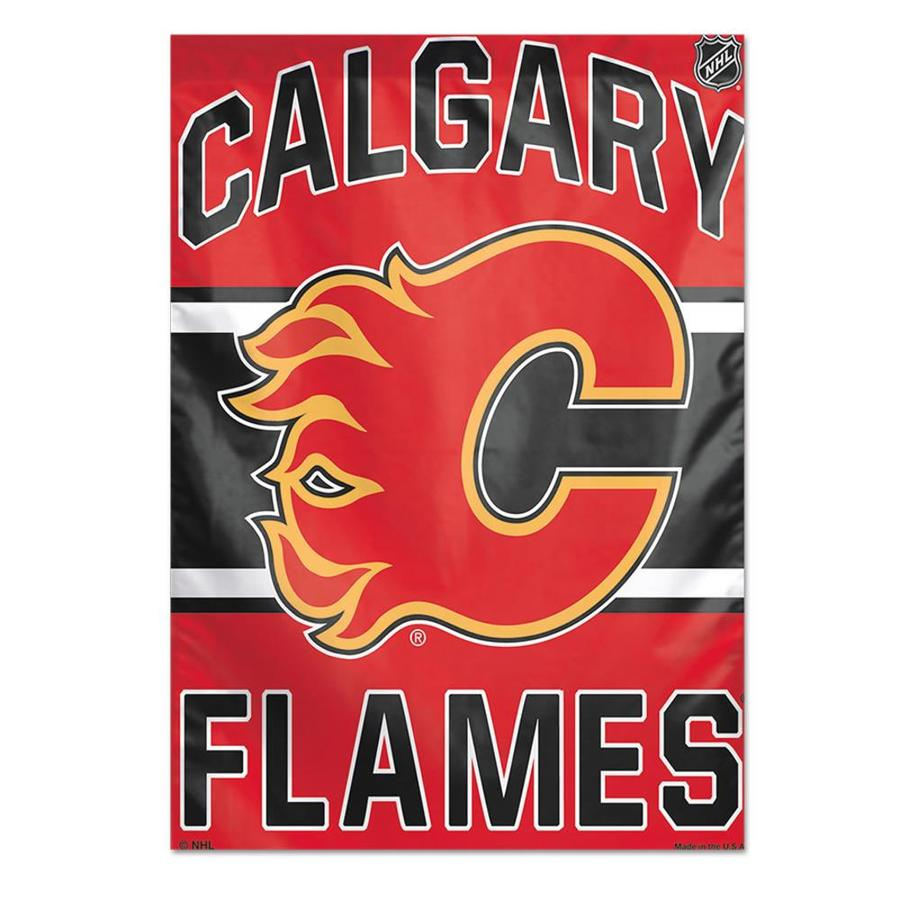 WinCraft Sports 2.33-ft W x 3.33-ft H Calgary Flames Flag