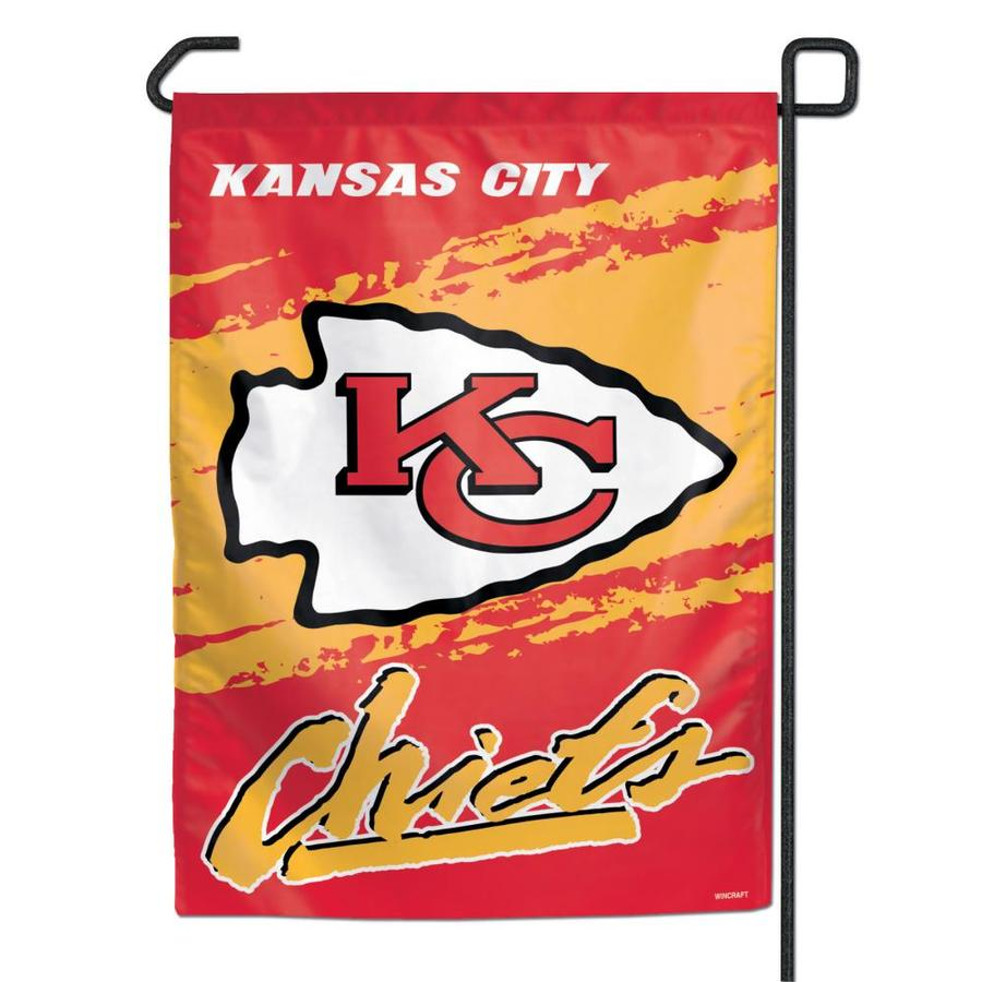WinCraft Sports Garden Flag Kansas City Chiefs Flag