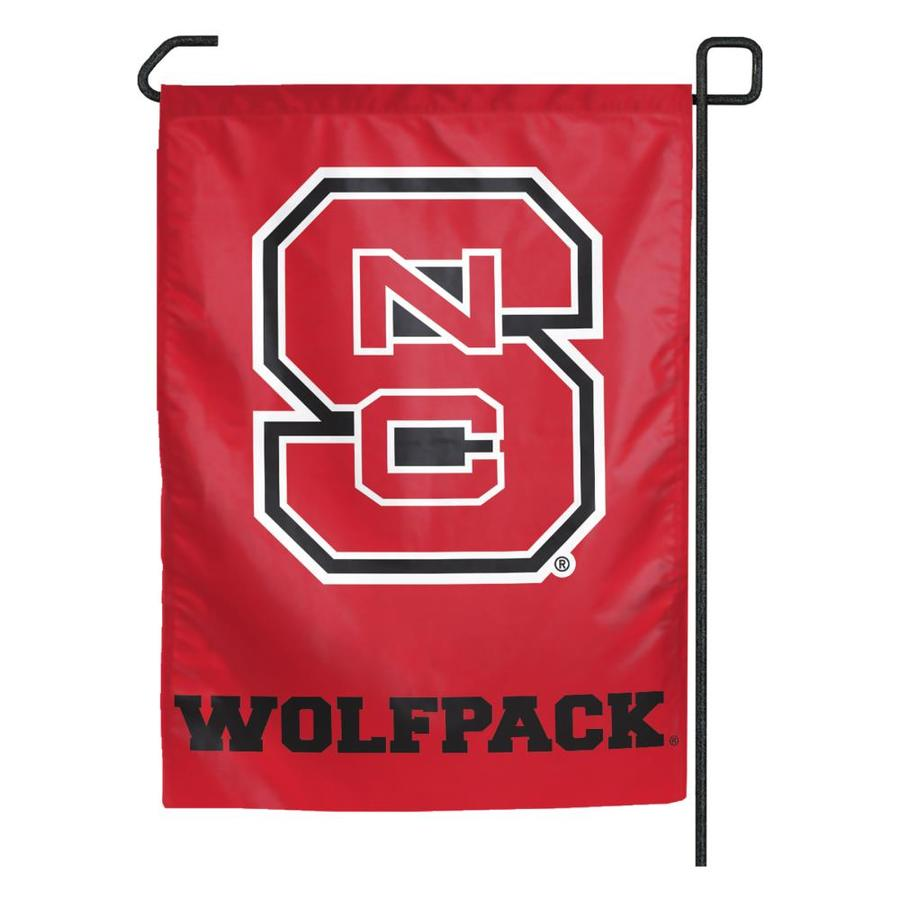 WinCraft Sports 1.25-ft W x 2.75-ft H North Carolina State University Flag