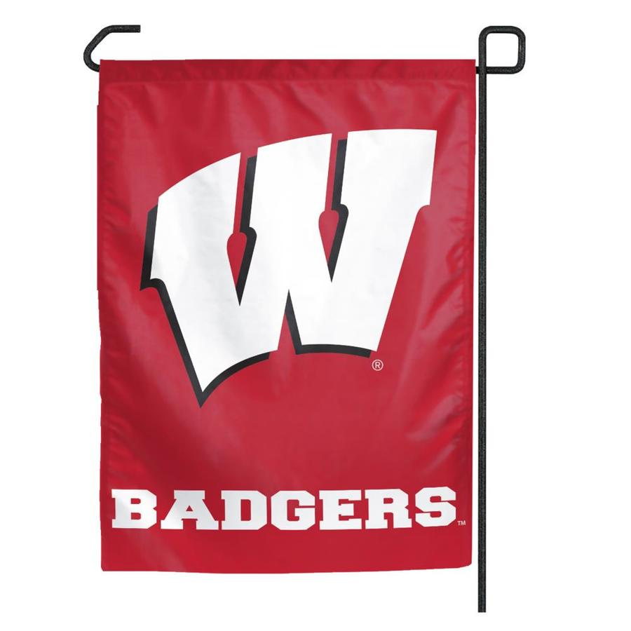 WinCraft Sports 1.25-ft W x 2.75-ft H University of Wisconsin Flag