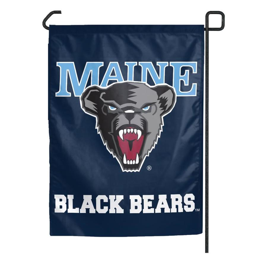 WinCraft Sports 1.25-ft W x 2.75-ft H University of Maine Flag
