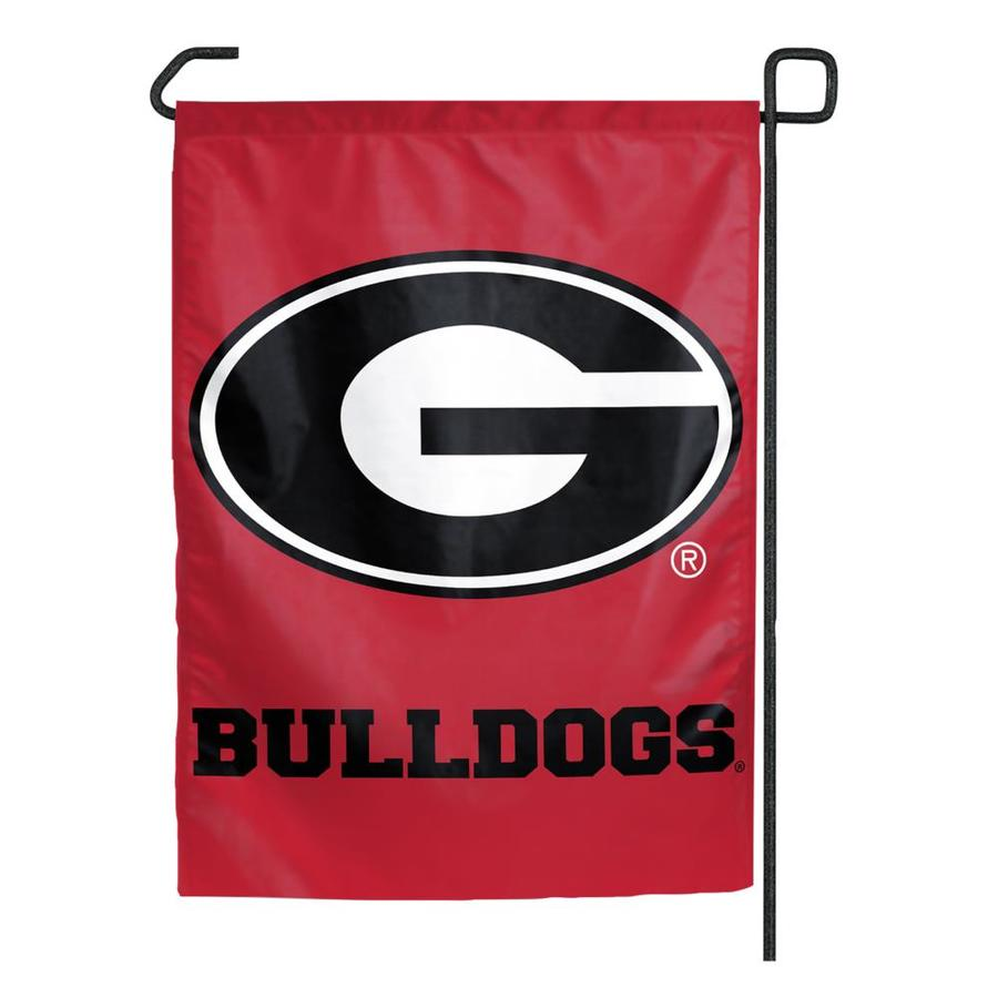 WinCraft Sports 1.25-ft W x 2.75-ft H University of Georgia Flag