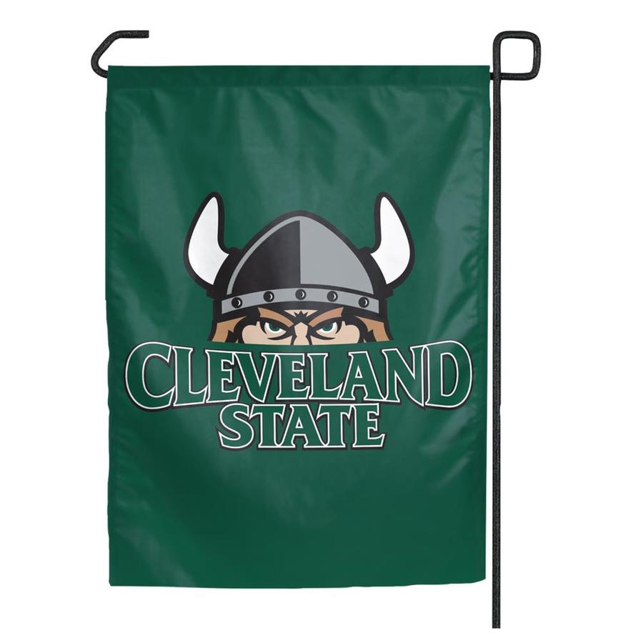 WinCraft Sports 1.25-ft W x 2.75-ft H Cleveland State University Flag